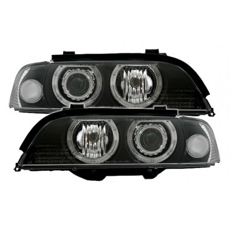 phare feux avant angel eyes led ccfl bmw serie 5 e39 525 tds 530d m5. Black Bedroom Furniture Sets. Home Design Ideas