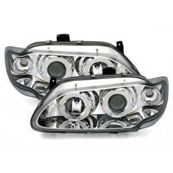2 FEUX PHARE AVANT ANGEL EYES A LED POUR RENAULT MEGANE 1 PHASE 1