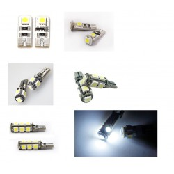 2 AMPOULE LED W5W CANBUS A LED SMD 5050