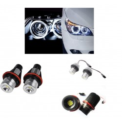 2 AMPOULE LED ANGEL EYES BMW SERIE 5 E60 PHASE 1