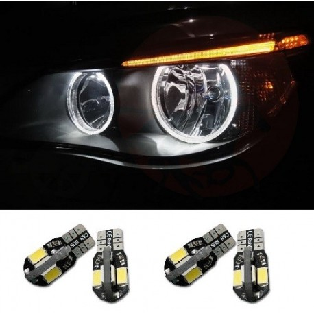 5 4 E60 Bmw Mtec Led Phase 1 Eyes Ampoule Serie Angel 4LS3Rq5jcA